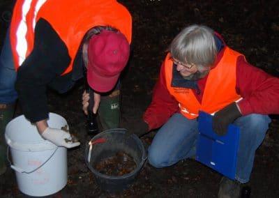 Vrijwilligers aan het werk