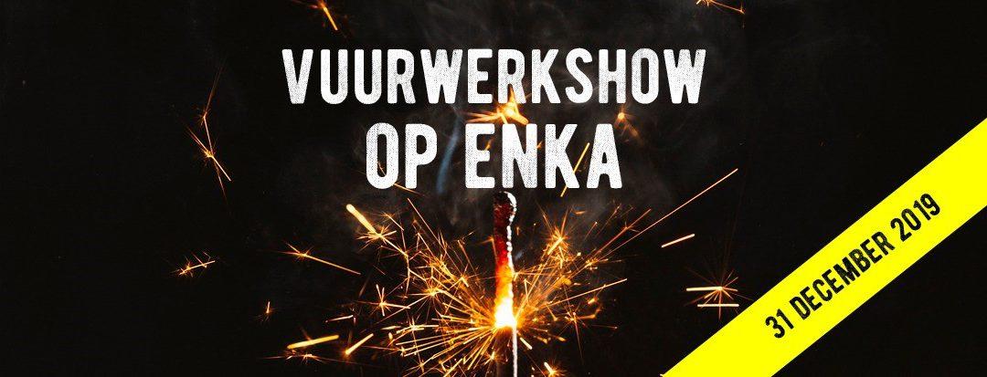Vuurwerk Op Enka