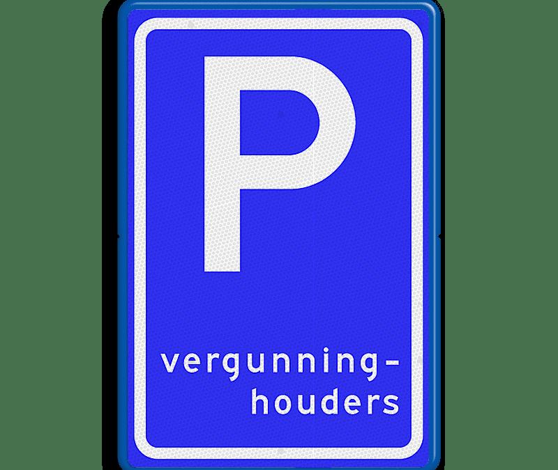 Stemming parkeervergunningen