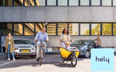 Met 1 app auto's en fietsen delen Op ENKA